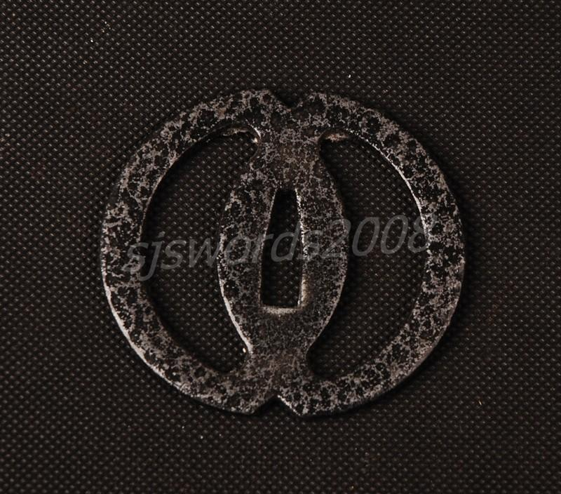 Regular Tsuba For Japanese Samurai Sword Wakizashi Katana Simple Design