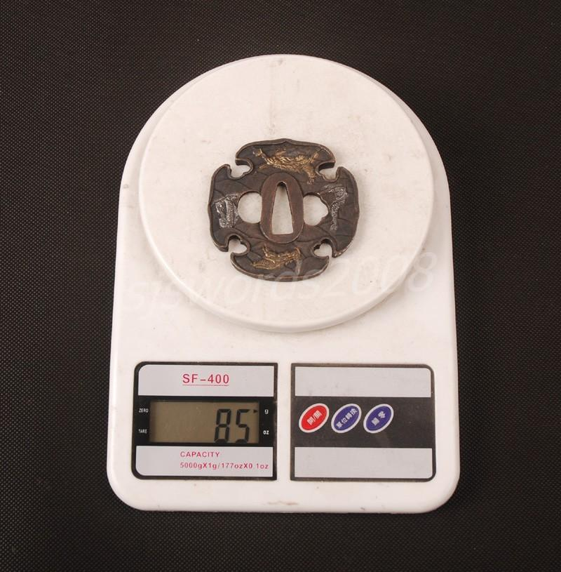 Alloy Part For Japanese Sword Samurai Katana Wakizashi Tsuba Guard