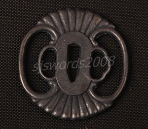 Japanese Sword Katana Wakizashi Part Alloy Tsuba Guard