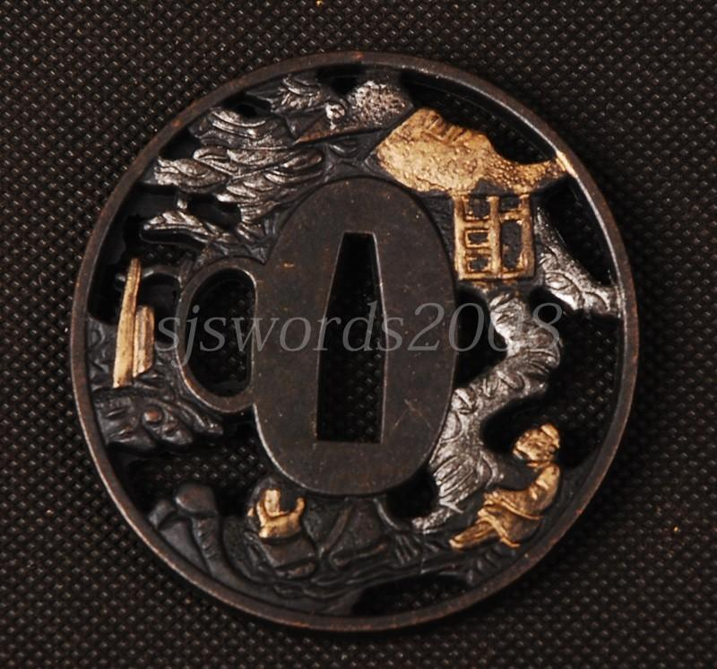 Tsuba For Japanese Warrior Sword Katana Wakizashi Appy Guard