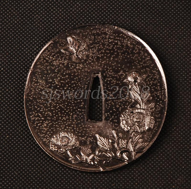 Nice Tsuba Alloy Guard For Japanese Sword Katana Wakizashi Tanto