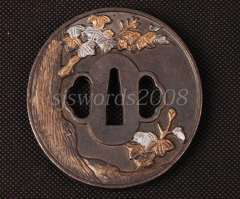 Eagle Carved Alloy Tsuba For Japanese Swords Katana Guard
