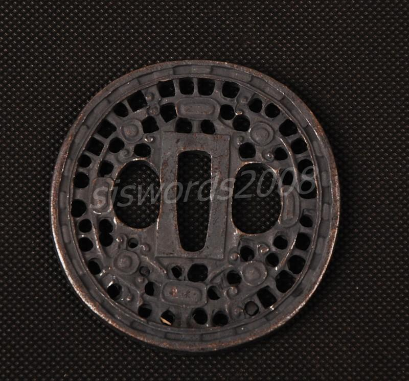 Part For The Japanese Sword Katana Wakizashi Tsuba
