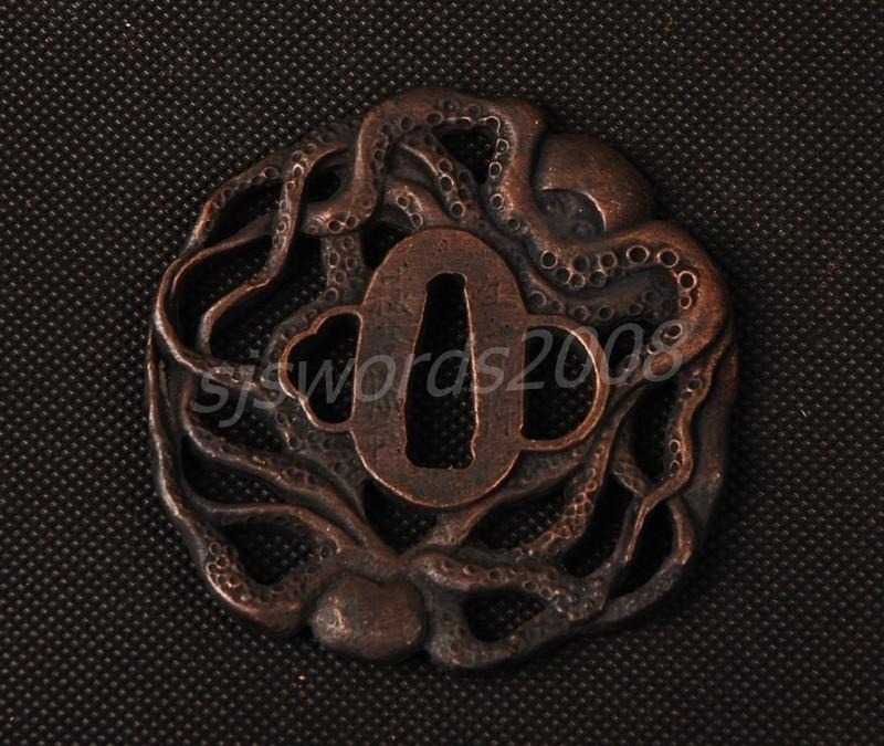 Alloy Tsuba Guard For Japanese Sword Katana Wakizashi Nice Design